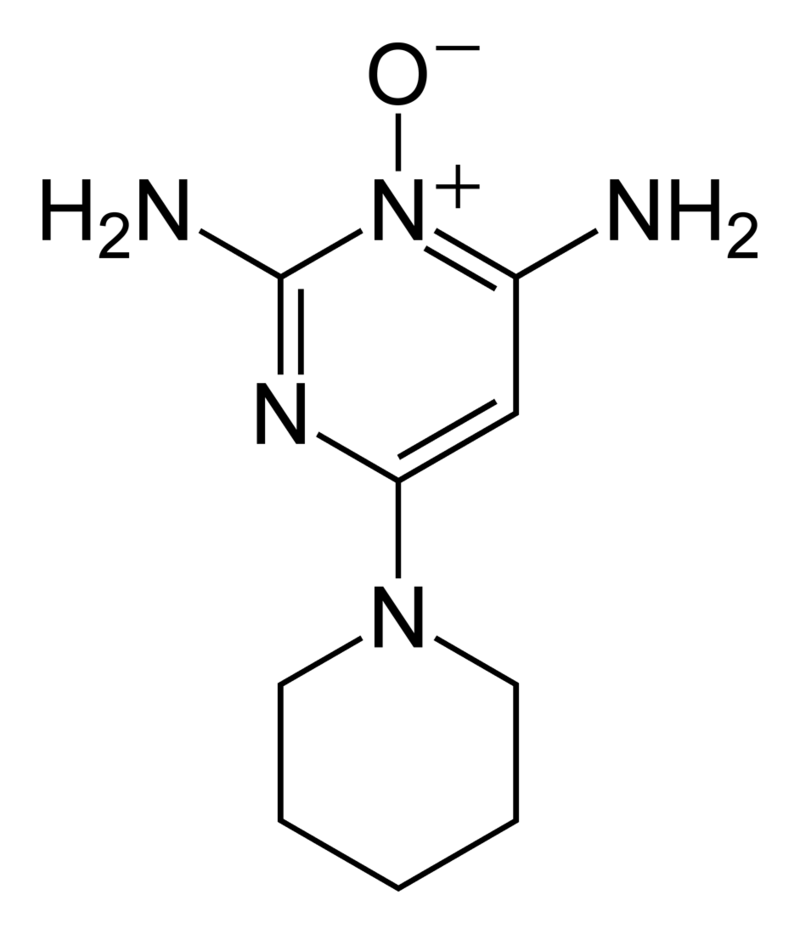 800px-Minoxidil-2D-skeletal