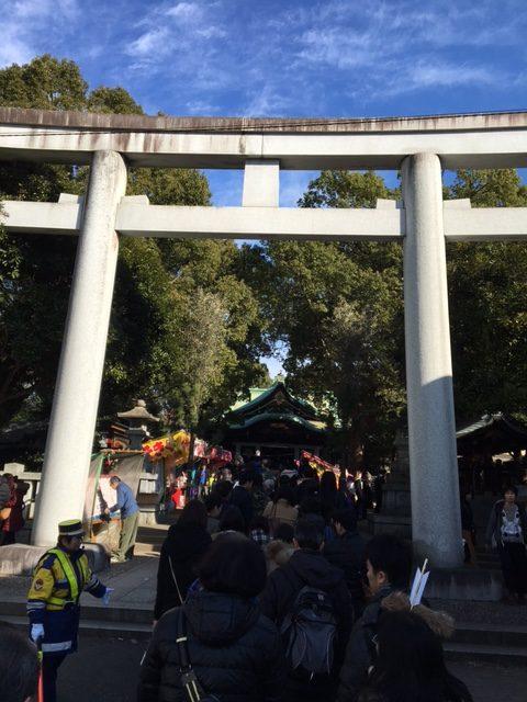 王子神社の鳥居