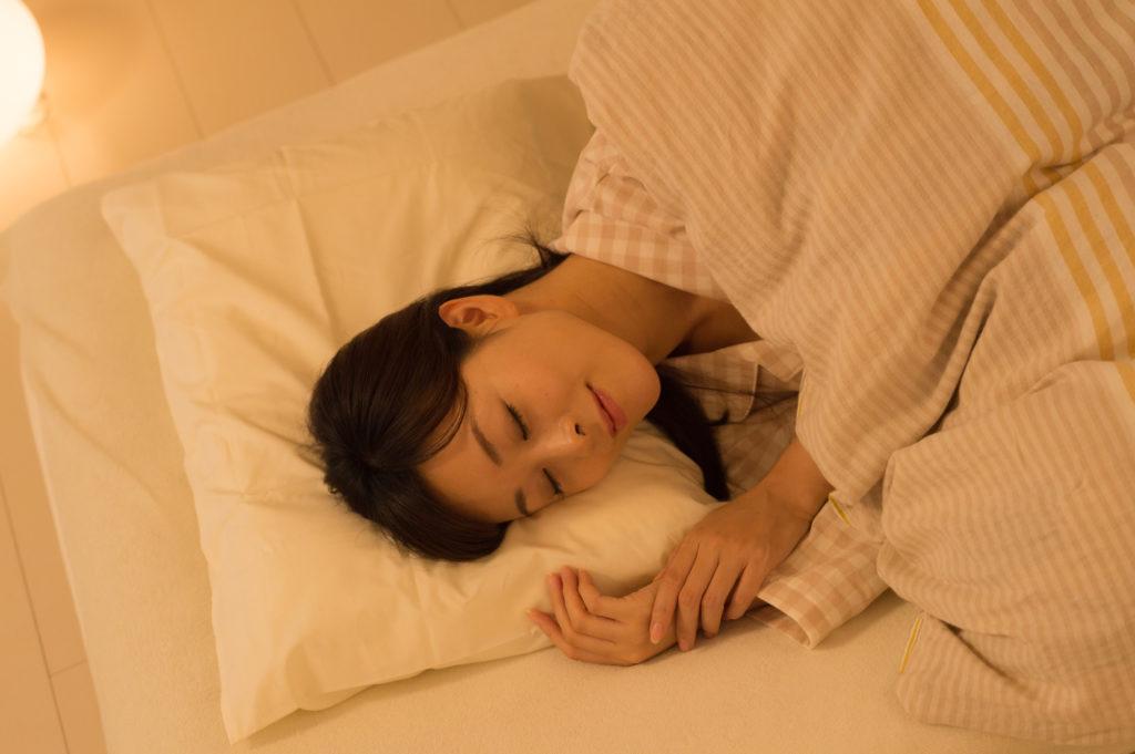 薄毛対策のために十分な睡眠をとる